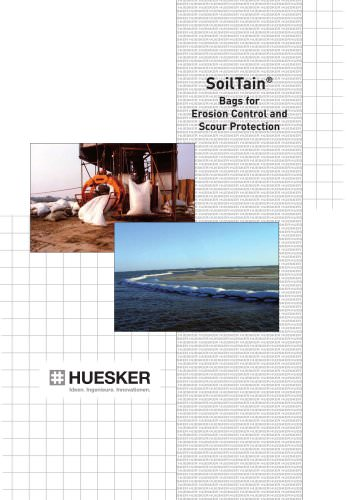 SoilTain® Bags for Erosion Control and Scour Protection
