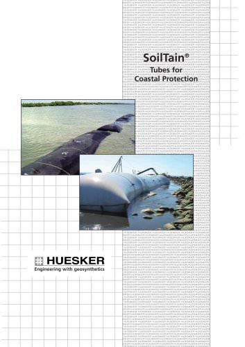 SoilTain® Tubes for Coastal Protection