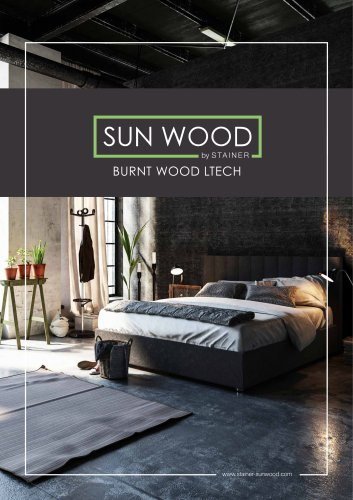 SUN WOOD - Burnt Wood Ltech