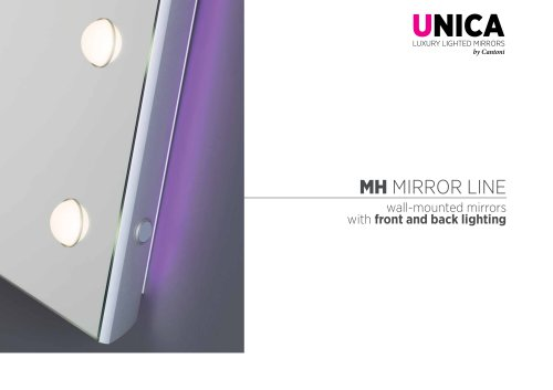 Unica, MH mirrors line Catalogue
