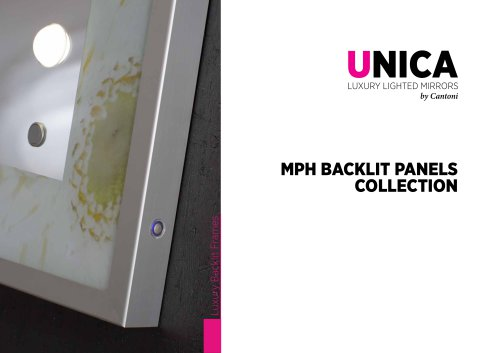 Unica, MPH decorated mirrors line Catalogue
