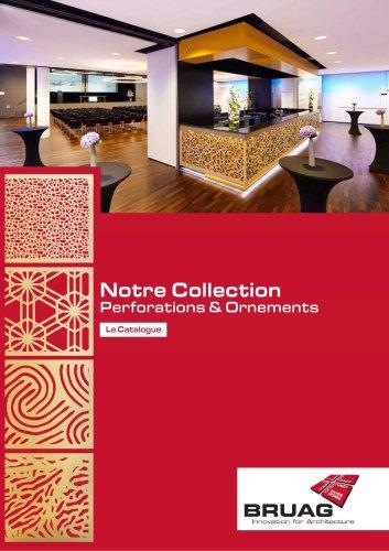Notre Collection de Perforations