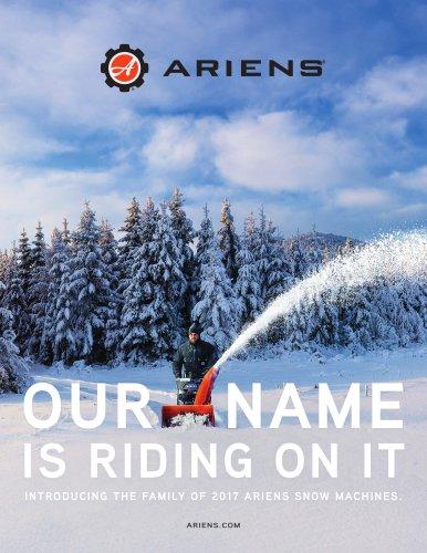 2017 Ariens Snow Catalog