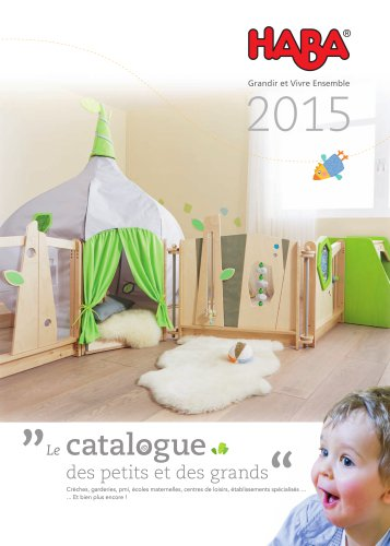 Catalogue des petits et des grands (creche, école, pmi)