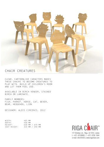 Chair Creatures