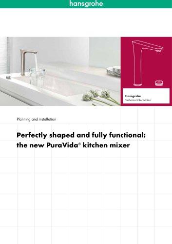 PuraVida® kitchen mixer