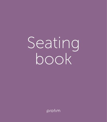 Seating book