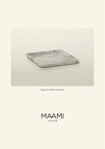Square Plate Carrara factsheet