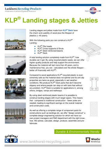 KLP® Landing stages & Jetties
