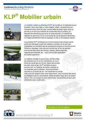 KLP® Mobilier urbain