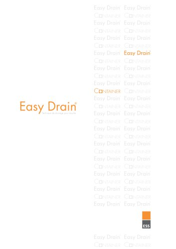 Easy Drain Catalogue