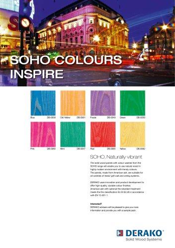 SOHO COLOURS INSPIRE