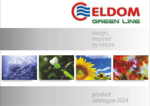Eldom Green line catalogue 2014