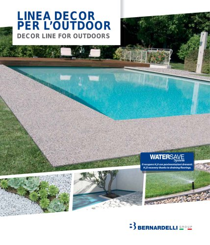 Decorstone e Water Save System