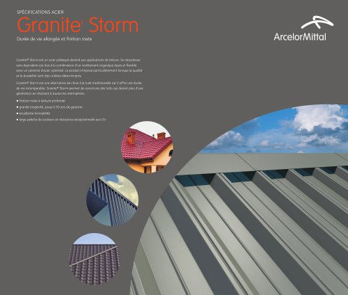 Granite® Storm