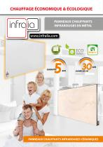 Radiateurs infrarouges Infralia