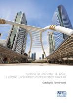Système de Rénovation du béton - Système Consolidation et renforcement structurel