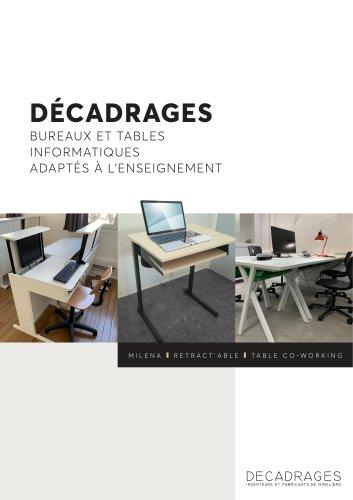 Bureaux escamotables