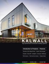 KALWALL overview 2018