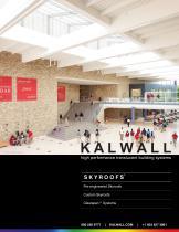 Kalwall Skyroofs Brochure