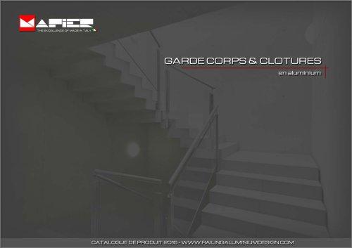 Garde-corps & Clotures Mapier 2016