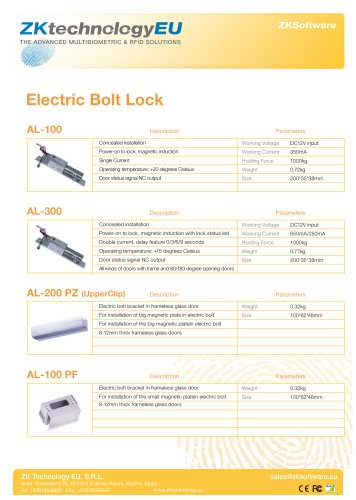 Electric Bolt Locks