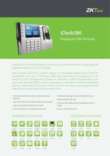 iClock-580