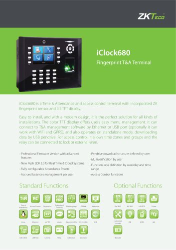 iClock-680