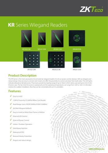 KR Series Wiegand Readers
