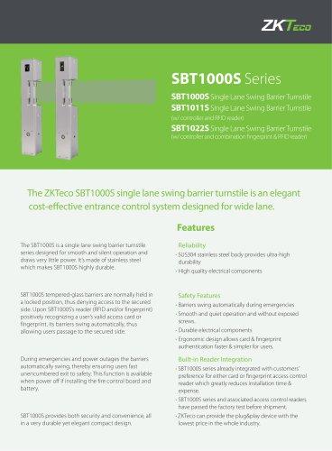 SBT1000S Series