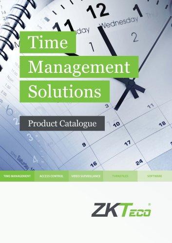 Time Management Catalogue