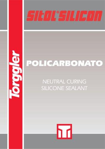 SITOL SILICON POLICARBONATO