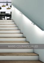 MAINS-COURANTES À LED