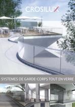 SYSTEMES DE GARDE-CORPS TOUT EN VERRE