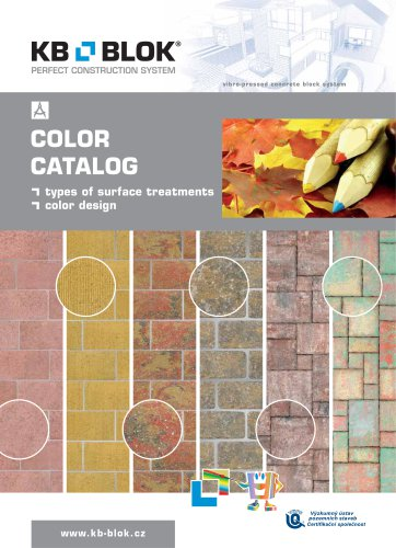 catalogue of colours