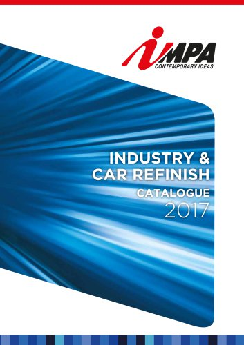 INDUSTRY & CAR REFINISH catalogue 2017