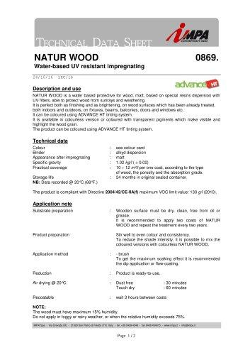NATUR WOOD 0869