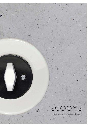 ECOOMS Interrupteurs et prises design