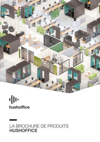 Hushoffice_Cabines acoustiques bureaux_catalogue