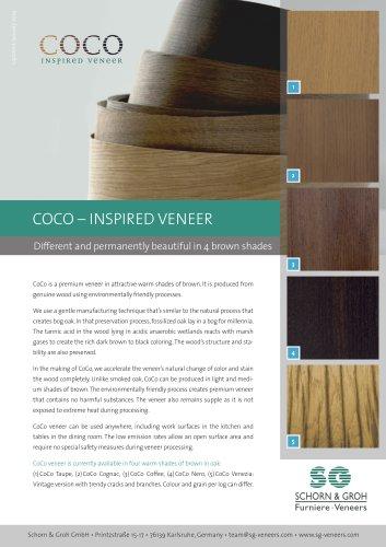 COCO – INSPIRED VENEER
