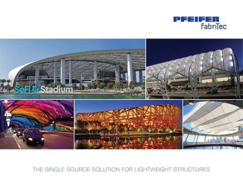 THE SINGLE SOURCE SOLUTION FOR LIGHTWEIGHT STRUCTURES