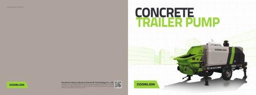 Concrete Trailer Pump