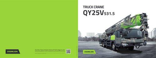 TRUCK CRANE QY25V531.5