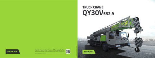 TRUCK CRANE QY30V532.9