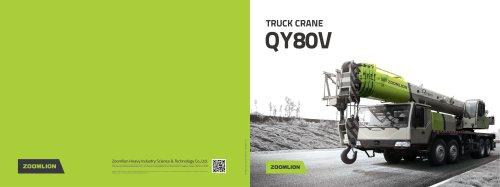 Truck Crane QY80V