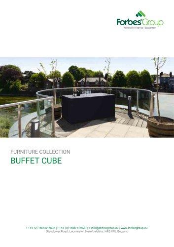Buffet Cube – Folding Buffet Tables & Bars