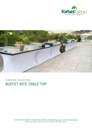 BUFFET RITE TABLE TOP