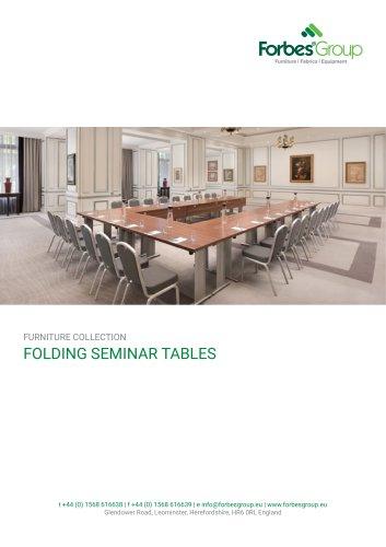 FOLDING SEMINAR TABLES