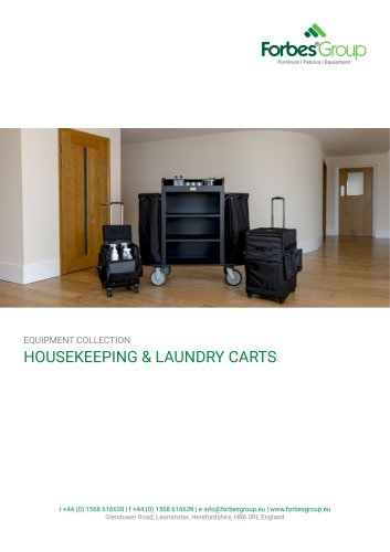 HOUSEKEEPING & LAUNDRY CARTS