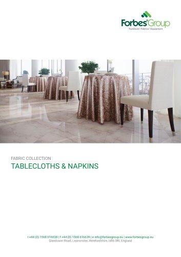 TABLECLOTHS & NAPKINS